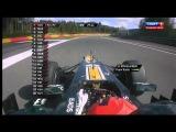 Формула 1. Сезон 2012. Этап 12. Гран При Бельгии.Третья свободная практика