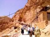 Восхождение в монастырь на гору Искушения.
